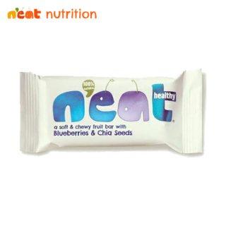 n'eat(ニート) ナチュラルフルーツエナジーバー ブルーベリー&チアシード