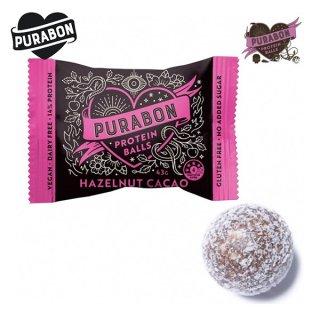 PURABON(ピュラボン) PROTEIN BALLS(プロテインボール) ヘーゼルナッツカカオ