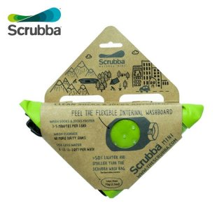 Scrubba(スクラバ) wash bag MINI(ウォッシュバッグMINI) 世界最小の持ち運べる洗濯機