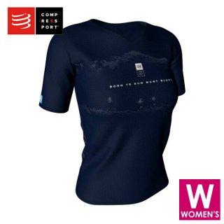 COMPRESSPORT(コンプレスポーツ) ショートスリーブ Mont Blanc 2019 レディース トレーニング Tシャツ