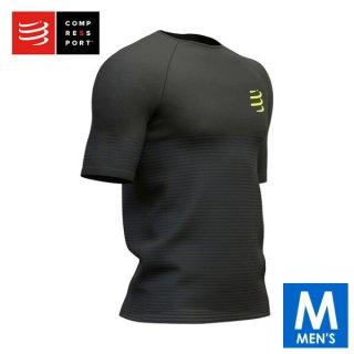 COMPRESSPORT(コンプレスポーツ) ショートスリーブ ブラックエディション 2019 メンズ トレーニング Tシャ
