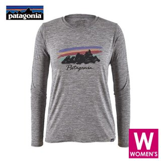 patagonia パタゴニア ロングスリーブ・キャプリーン・クール・デイリー・グラフィック・シャツ レディース