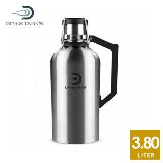 DrinkTanks(ドリンクタンクス) 128oz (3.8L) Growler2.0 グラウラー2.0 Stainless ステンレススチールの真