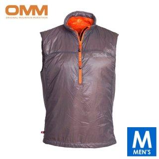 OMM オリジナルマウンテンマラソン ROTOR VEST メンズ ハーフジップ ノースリーブ ベスト