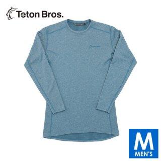 Teton Bros ティートンブロス Power Wool Grid L/S メンズ 長袖シャツ(起毛)