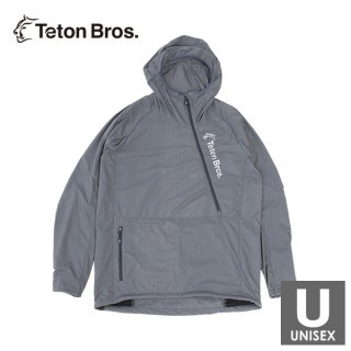 Teton Bros ティートンブロス Run With Octa (Unisex) メンズ・レディース ハーフジップ フード付きウイン