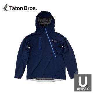 Teton Bros ティートンブロス Breath Jacket メンズ・レディース ハーフジップ フーディージャケット レイ