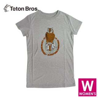 Teton Bros ティートンブロス WS TB Protect Your Playground Tee レディース 半袖Tシャツ