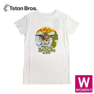 Teton Bros ティートンブロス WS TB Ski Cowboy Tee レディース 半袖Tシャツ