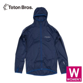 Teton Bros ティートンブロス WS Wind River Hoody レディース フルジップ フーディージャケット