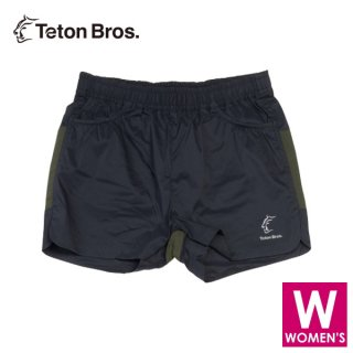 Teton Bros ティートンブロス WS ELV100 5in Hybrid Short レディース ショートパンツ