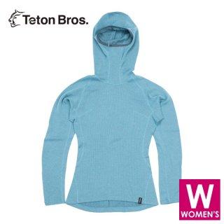 Teton Bros ティートンブロス WS MOB Wool Hoody (Women) レディース ベースレイヤー