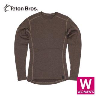 Teton Bros ティートンブロス WS MOB Wool L/S (Women) レディース 長袖ベースレイヤー