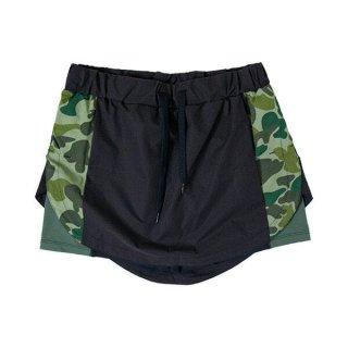 MMA マウンテンマーシャルアーツ Fish Trail Run Skirt レディース インナー付き ランニングスカート