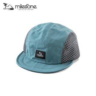milestone(マイルストーン) original cap MSC-010 Blue×Gray メンズ・レディース メッシュキャップ