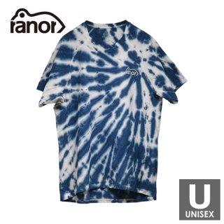 ranor ラナー UNEVEN TIE DYEING T-SHIRT メンズ・レディース 半袖Tシャツ