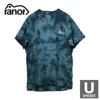 ranor ラナー ANTECURSOR TIE DYEING T-SHIRTS メンズ・レディース 半袖Tシャツ