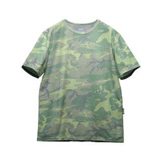 ranor ラナー ウッドランドカモフラージュ メンズ・レディース 半袖Tシャツ