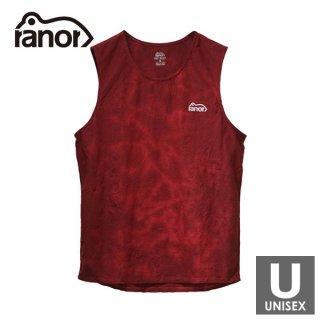 ranor ラナー ANTECURSOR TIE DYEING NOSLEEVE メンズ・レディース ノースリーブシャツ