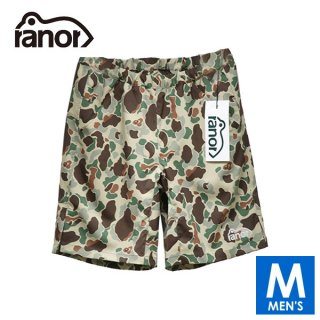 ranor ラナー DUCK CAMOUFLAGE SHORT PANTS メンズ ショートパンツ