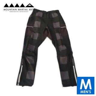 MMA マウンテンマーシャルアーツ 7pkt Running Long Pants (Black Check) メンズ ロングパンツ