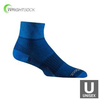WRIGHTSOCK(ライトソック) COOLMESH�- Quarter メンズ・レディース ミドル丈ランニングソックス