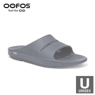 OOFOS(ウーフォス) 【国内正規品】OOahh - 18 Slate メンズ・レディース リカバリーサンダル(シャワーサン
