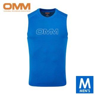 OMM オリジナルマウンテンマラソン FLOW SINGLET メンズ ノースリーブシャツ