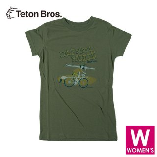 Teton Bros ティートンブロス WS TB Pole Pedal Paddle II Tee レディース 半袖Tシャツ