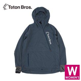 Teton Bros ティートンブロス WS Breath Runner レディース ハーフジップ フーディジャケット