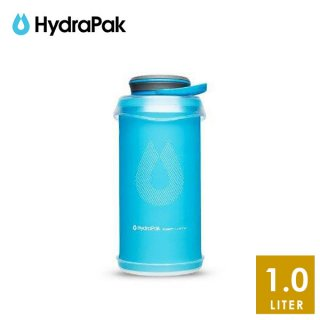 Hydrapak(ハイドラパック) STASH 1L FLEXIBLE BOTTLE 実用性に優れたデザインのソフトボトル