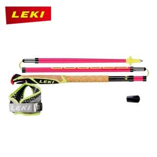 LEKI(レキ) マイクロトレイルプロ ロンググリップ仕様モデルのトレイルランニング・ポール