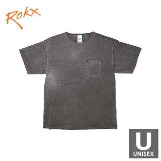 ROKX(ロックス) MG POCKET TEE メンズ・レディース 胸ポケット コットン半袖Tシャツ