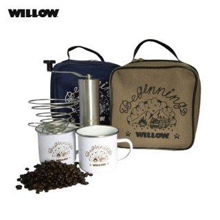 willow(ウィロー) ポータブルコーヒーセット アウトドアで使えるハンドドリップコーヒーのセット