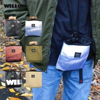 willow(ウィロー) チョークバッグ WIPO クライミング用チョークバッグから生まれた携帯ポケット
