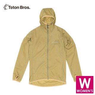 Teton Bros ティートンブロス WS Wind River Hoody レディース フルジップ パーカー ジャケット