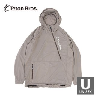 Teton Bros ティートンブロス Run With Octa メンズ・レディース ハーフジップ フード付きウインドジャケッ