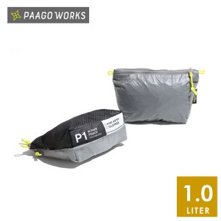 PaaGo WORKS パーゴワークス W-FACE POUCH 1 日常から非日常まで365日使えるスタッフバッグ・ポーチ(1L)
