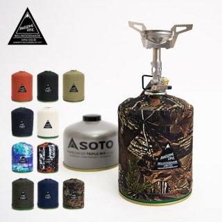 AWESOME LIFE GasCostom 500(ガスカスタム500) 一般的な500gガスカートリッジCD缶対応のガスカバー