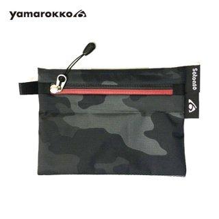 yamarokko(ヤマロッコ) yamarokko×Sotoaso ダブルネームワレット SMART FACE-Light 撥水ナイロンウォレッ