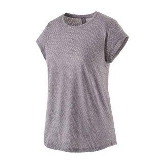 patagonia パタゴニア ウィメンズ・リッジ・フロー・シャツ レディース 半袖Tシャツ