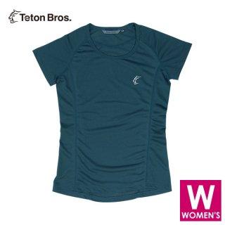 Teton Bros ティートンブロス WS ELV1000 S/S Tee レディース ドライ半袖Tシャツ
