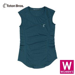 Teton Bros ティートンブロス WS ELV1000 Non Sleeve レディース タンクトップ・ノースリーブシャツ