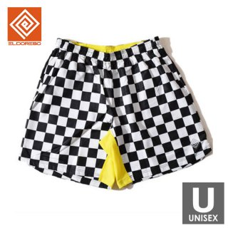 ELDORESO(エルドレッソ) Egorova Shorts(Checker) メンズ・レディース ランニングショーツ