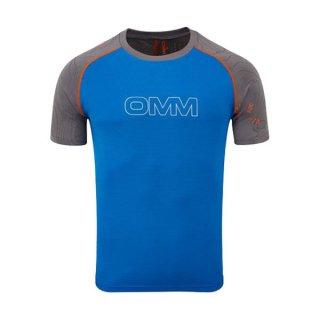 OMM オリジナルマウンテンマラソン FLOW TEE メンズ ドライ半袖シャツ
