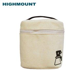 HIGHMOUNT(ハイマウント) キャンバスポーチII コーヒーセットを持ち出せるキャンバス地のポーチ