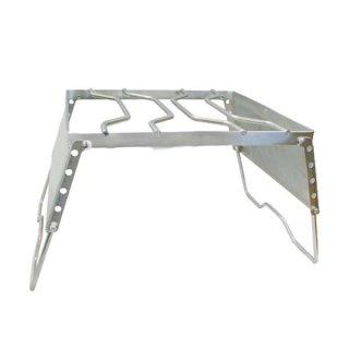 HIGHMOUNT(ハイマウント) アジャスタブルグリル 折りたたみ式のゴトク