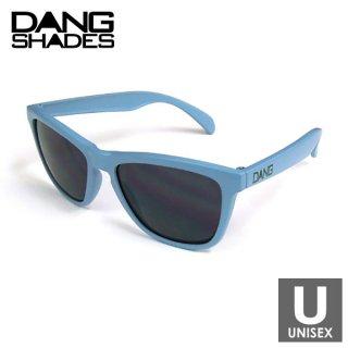 DANG SHADES(ダン・シェイディーズ) ORIGINAL Slate Blue Matte × Black スポーツサングラス