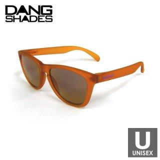 DANG SHADES ORIGINAL Orange Clear Frost x Purple mirror w/ Purple Logo [Glow in Dark] サングラス