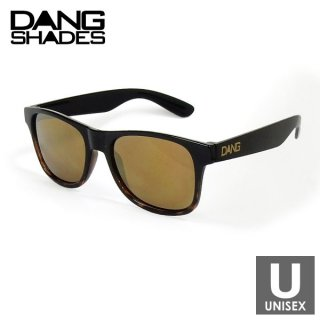 DANG SHADES LOCO Black / Brown Tortoise Gradation Gloss × Bronze Mirror スポーツサングラス